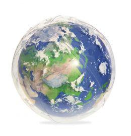 Ballon globe terrestre led
