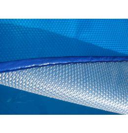 Bâche à bulles Bleu/Alu 4 côtés bordés à partir de 7.90€/m²