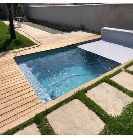Kit piscine en aluminium Smart-Pool