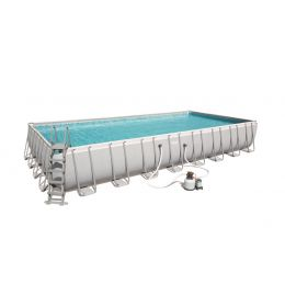 Piscine rectangulaire Power Steel 956 x 488 x 132 cm