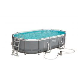 Piscine ovale Power Steel 488 x 305 x 107 cm
