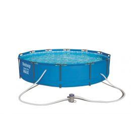 Kit piscine ronde Steel Pro Max Ø 457 cm x h 107 cm