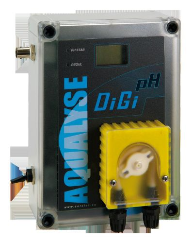 Régulateur de pH DigipH - Traitement eau piscine jusqu'à 180 m3