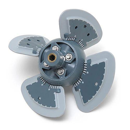 Assemblage moteur de robot hydraulique zodiac mx8/mx9
