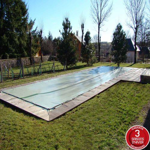 Bâche d'hivernage opaque piscine hors sol safe