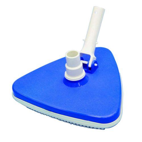 brosse aspirante triangulaire pour nettoyer la piscine