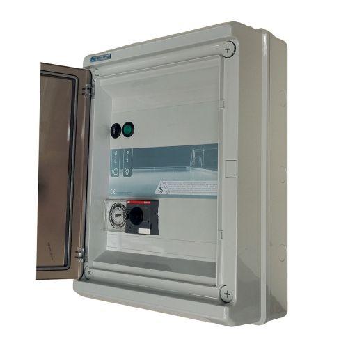 Coffret électrique panorama pour filtration et éclairage 1x100W
