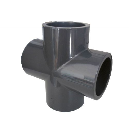 Croix pvc diamètre 50 mm - raccord piscine