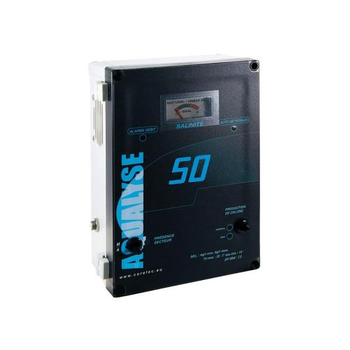 Electrolyseur Aqualyse 50 pour piscine de 30 à 50 m3 - traitement piscine