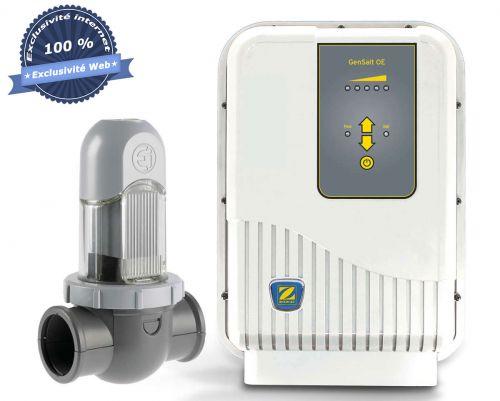 Electrolyseur zodiac OE17 pour traitement de piscine au sel
