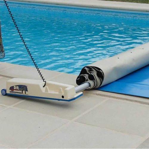 enrouleur de bâche à barres automatique droopi -sécurité piscine
