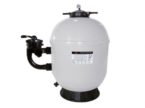 Filtre à sable superpool side pro 750 pour filtrer un bassin entre 80 et 110 m3