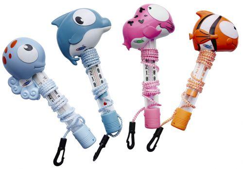 4 modèles de thermomètre aquatique