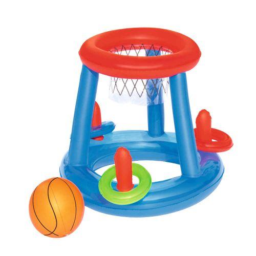 Panier de basket gonflable pour piscine