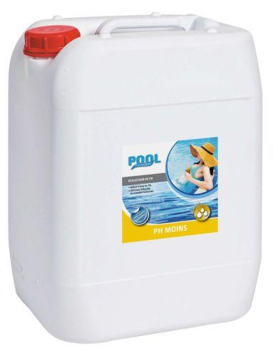 pH moins liquide 20 litres - électrolyseur de piscine au sel
