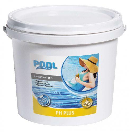 pH plus en granule pour augmenter le taux de pH de l'eau du bassin