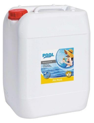 pH plus liquide pour remonter le taux de pH de l'eau de piscine