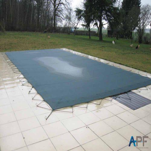 Bâche d'hivernage filtrante chamonix pour piscine