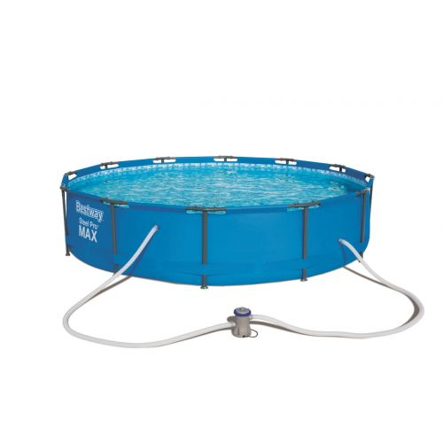Kit complet piscine tubulaire ronde Bestway