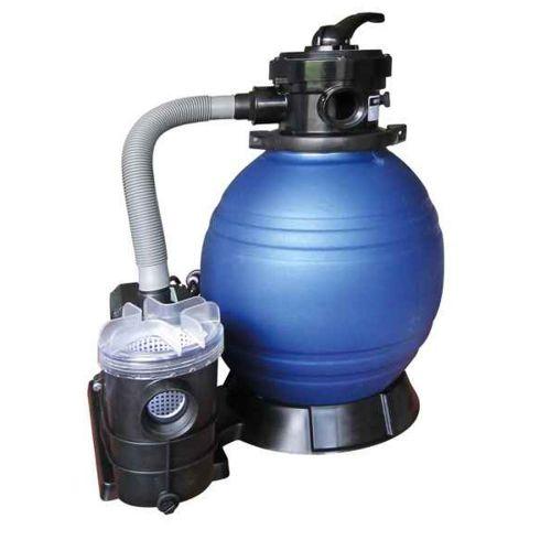 Platine de filtration 6m3/h avec pompe 0.35 cv pour piscine hors-sol
