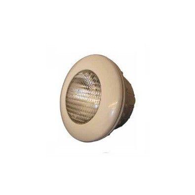 Projecteur halogène Astral 300W couleur sable (beige) pour piscine béton et liner