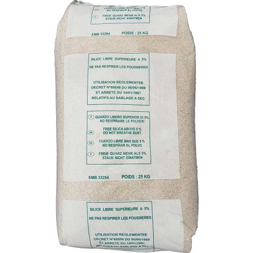 Sac de sable de 25 kg pour filtration piscine pas cher