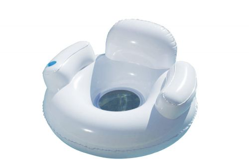 Fauteuil gonflable de piscine - grand confort