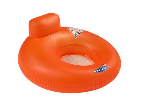Siège hamac de couleur gonflable pour piscine