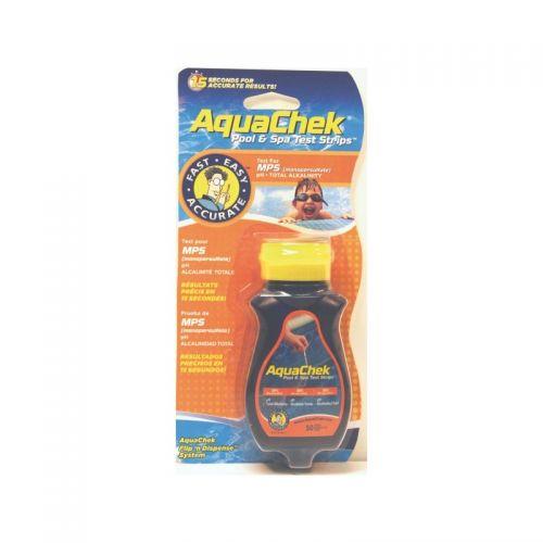 test oxygène actif piscine et spa