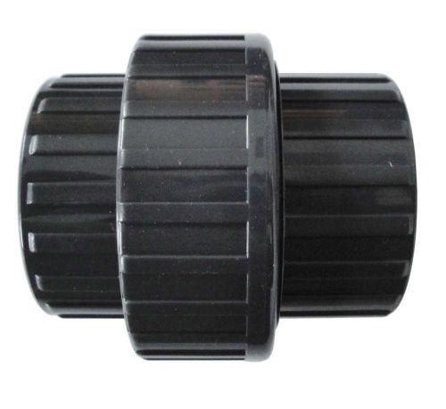 Union 3 pièces pvc à pression femelle diamètre 63 mm