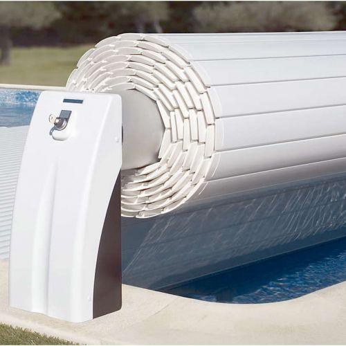 Volet roulant électrique hors-sol pour piscine existante ou neuve
