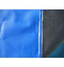 Bâche à bulles Bleue/Noire 4 côtés (le m²)