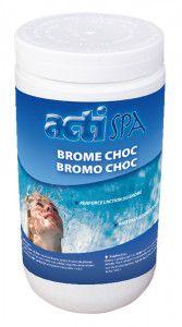 Brome choc en poudre 1 kg pour piscine et spa