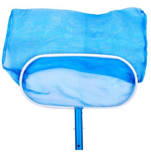 Epuisette de fond en alu pour nettoyage piscine
