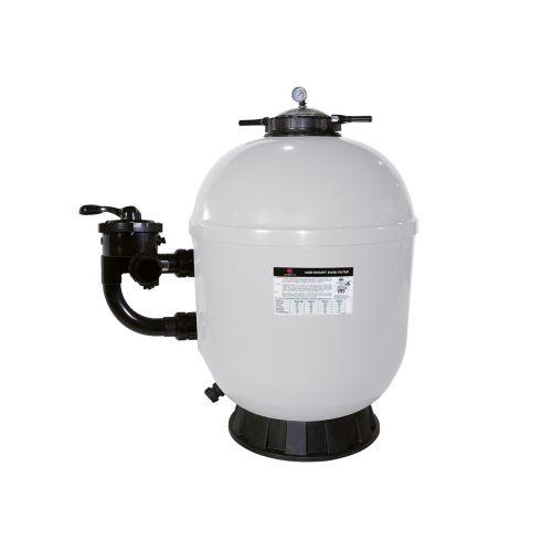 Filtre à sable side pro 500 pour filtration de piscine jusqu'à 55 m3