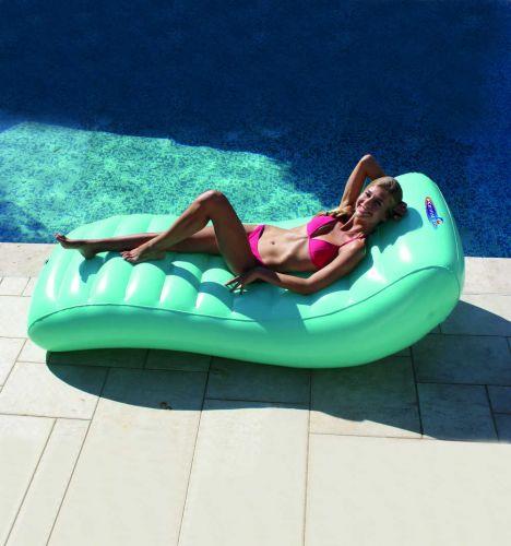 Matelas lounger design gonflable pour piscine