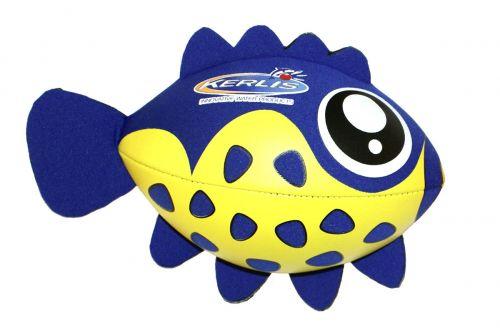 Mini Ballon Poisson Bleu pour jouer dans la piscine