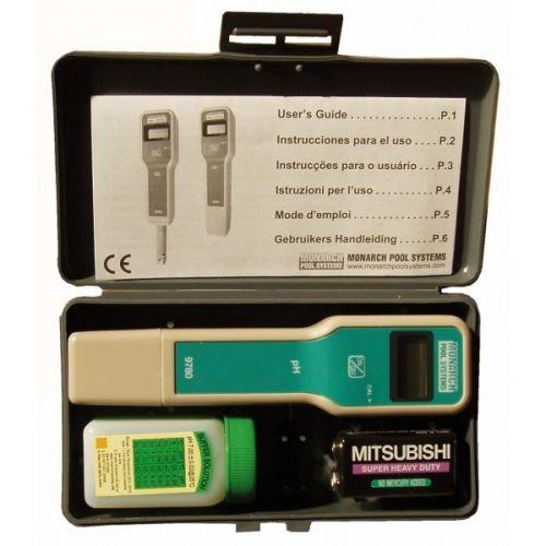 Testeur de pH électronique pour analyser le pH de l'eau de piscine ou spa