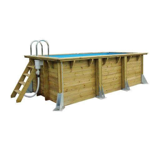 Piscine en bois Ubbink  rectangulaire