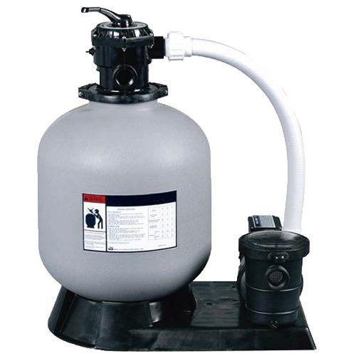 Platine de filtration 8m3/h avec pompe 0.50 cv pour piscine hors-sol