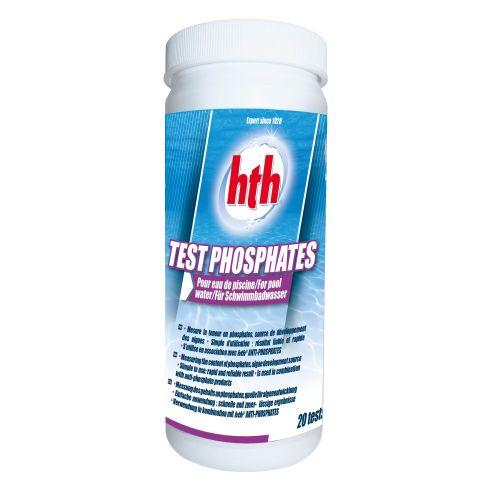 test pour teneur en phosphates dans l'eau de piscine ou spa - traitement de l'eau